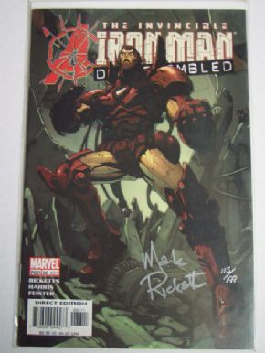 Iron Man #86 Dynamic Forces Signed Mark Ricketts COA Ltd 199